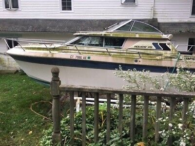 1985 Cruisers Holiday 25' Cabin Cruiser - Connecticut
