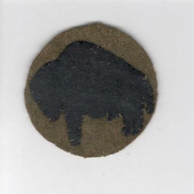 """WW 1 US Army 92nd Division 2-3/4"""" Patch Inv# C147"""