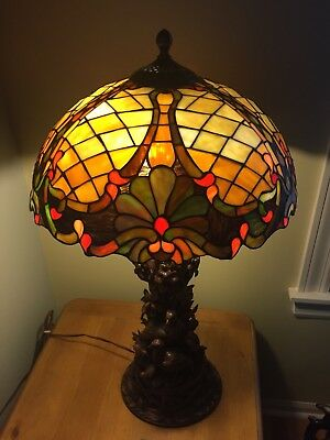 Tiffany Stained Glass Style Lamp Shade