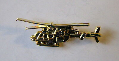 Helicopter Goldin Pin