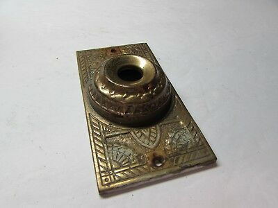 Super Vintage 1800S Brass East Lake House Door Bell Cover