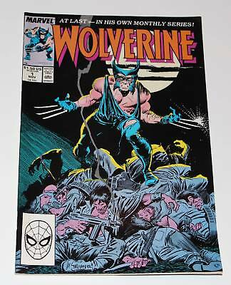 Wolverine #1 (1st series) | Wolverine 1st Appearance as Patch | Marvel 1988