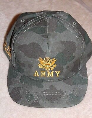 Authentic Supreme S S 12 Army 5 panel Rare GRAIL All Guts No Glory camp 77959bb5df22