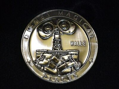 New Disney Movie Rewards Dmr Wall-E Coin Magical Places Limited Edition Pixar