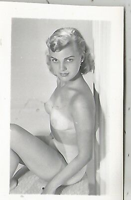 Small Blond Nude Who Looks Like The Girl Next Door Photo 1940s
