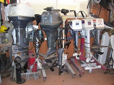 Boat Motors 4 Sale  2 X 55 Hp Johnson  3 X Evinrude 15 Hp 2 X Electric Trolling