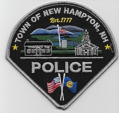 Colorful New Hampton Police State New Hampshire NH new