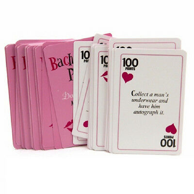 Fj- Bachelorette Hen Party Favors Supplies Truth Or Dare Activity 52 Cards Game