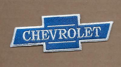 New 1 1/2 X 4 Inch Chevrolet Bow Tie Iron On Patch Free Shipping