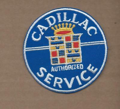 New 3 Inch Cadillac Service Iron On Patch Free Shipping