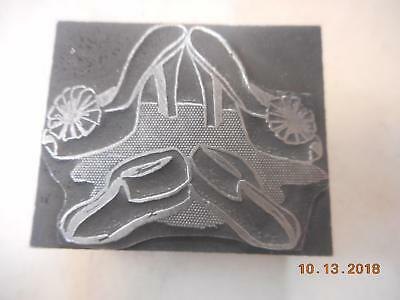 Printing Letterpress Printer Block, Decorative Fashion Heels & Shoes Printer Cut