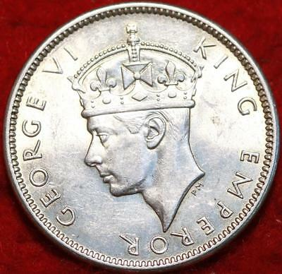 Uncirculated 1942-S  Fiji  Shilling Silver Foreign Coin