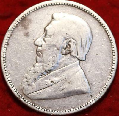 1892 South Africa 2 Shillings Silver Foreign Coin
