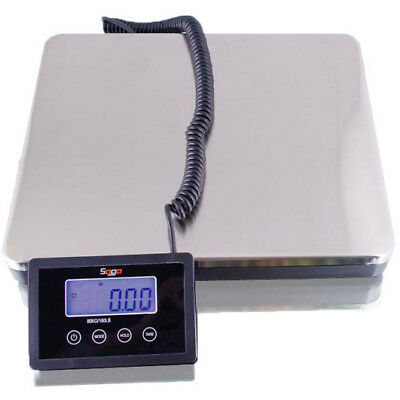 SAGA 360 LB X 0.2lb NUMBER SCALE POSTAL for SHIPPING WEIGHT POSTAGE W/AC 160 KG