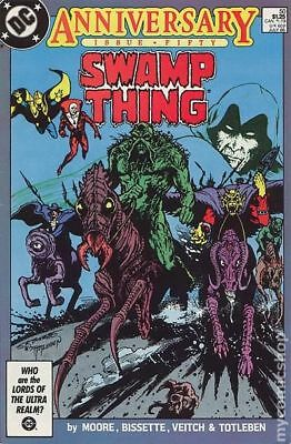 Swamp Thing (2nd Series) #50 1986 VG Stock Image