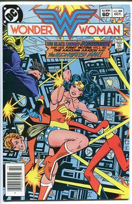 Wonder Woman #308 Elongated Man Dc Comics 1983 Vf/nm