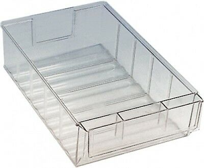 "Lager-Box Storage Boxes Transparent "" 500 Dtr "" 81x183x500mm Box Bearings"