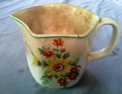 Vintage BCM Nelson Ware, Jug made in England