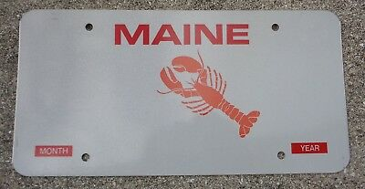 Maine Lobster Blank license plate
