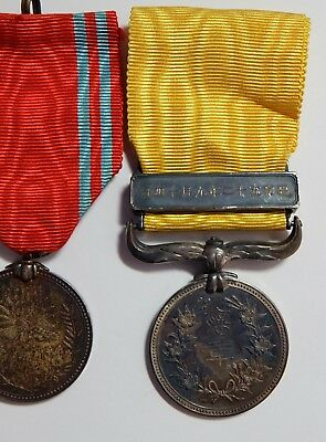 JAPANESE YELLOW RIBBON MEDAL of HONOR STERLING SILVER BADGE JAPAN RED CROSS