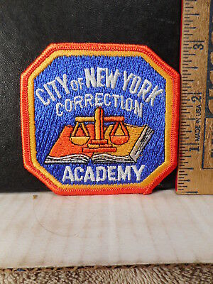 New York Correction Academy Hat Or Shoulder Police Patch  1013TB.