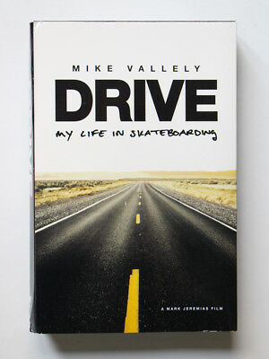 Mike Vallely DRIVE My Life In Skateboarding VHS PAL Video 2002