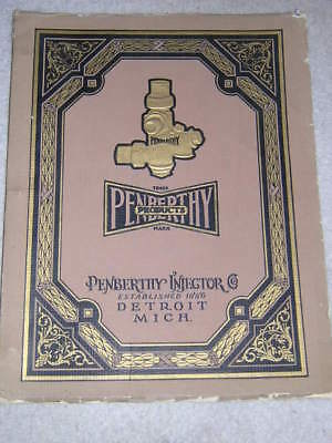 Penberthy Steam Injector Catalog / Traction Engine / Ejector / Water Heater