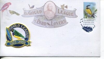 Australia special FDC cover - Gould League of Bird Lovers - 2009