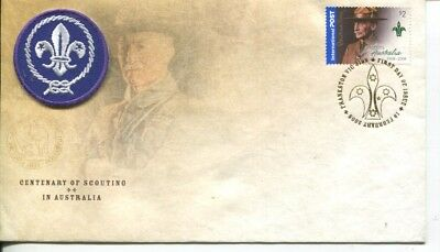 Australia special FDC cover - Centenary of Scouting in Australia - 2008