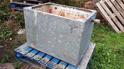 Large 100 Gallons Galvanised Steel Water Tank Trough Planter