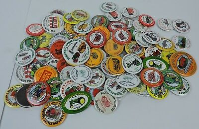 Lot of 88 Pinbacks Buttons Badges mostly Threshing Shows Illinois Indiana Minn