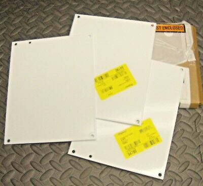 """NEW NO BOX Hoffman  A10P8 10 X 8/"""" Back Plate for Enclosure"""