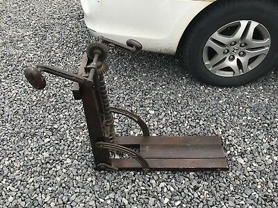 Barn Beam Auger Drill, Primitive, Antique, Pat. 1872, Very Clean, Old Tool