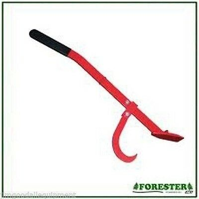 """Tree Felling Lever,47"""",Free Your Pinched Saw,Rolling Logs,All Steel Construction"""
