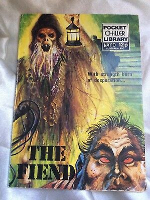 POCKET CHILLER LIBRARY - THE FIEND. 1970s. GOOD.