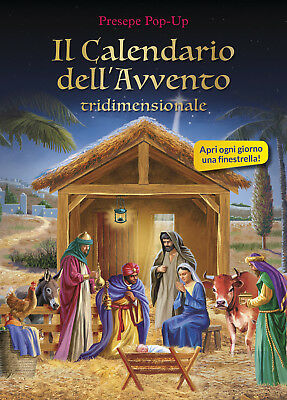 Il calendario dell'Avvento tridimensionale. Presepe pop-up. Ediz. illustrata
