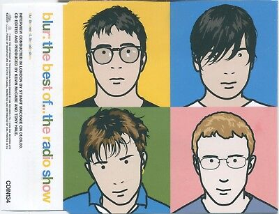 BLUR The Best Of...The Radio Show - MINT 9 track 2000 UK PROMO CD - Food CDIN134