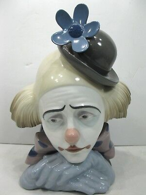 LLADRO Pensive Clown No. 5130 Mint Condition with Box