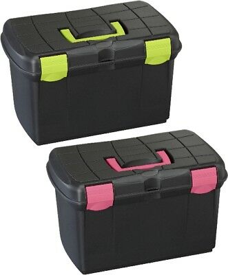 Protack Grooming Box Medium 161 For Horses And Ponies Brushes Storage Box