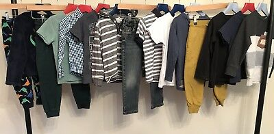 NEXT Boys Clothes Bundle Age 3-4 Long Sleeved T-Shirts Jumpers Jeans Joggers Pjs