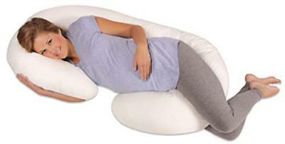 Leachco Snoogle Pregnancy/Maternity Total Body Pillow, Ivory