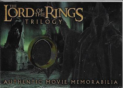 Topps Chrome Lord Of The Rings Trilogy Authentic Movie Memorabilia Witch King