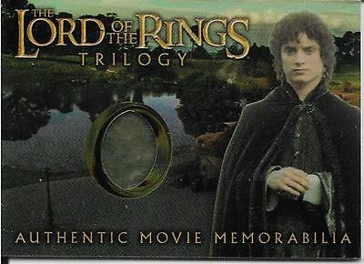 2004 Topps Chrome Lord Of The Rings Trilogy Authentic Movie Memorabilia Frodo