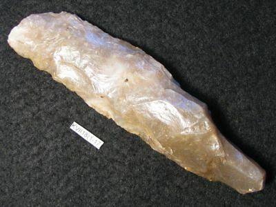4000Y.O: GREAT DAGGER 110mms STRIKE-A-LIGHT LIGHTER DANISH STONE AGE NEOLITHIC