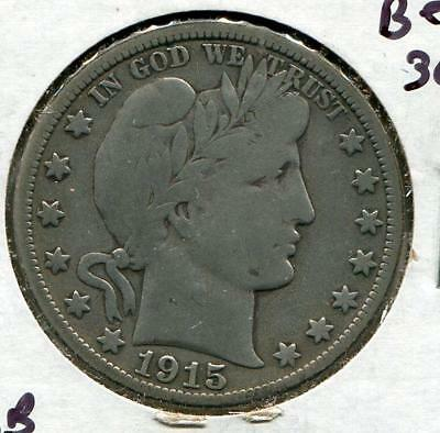 1915-D Barber Half | Silver 50 c | Denver (RC8615)