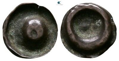 Savoca Coins Bronze Medieval Coin 0,13g/11mm §AME9371