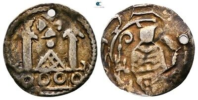 Savoca Coins Medieval Silver Coin 0,57g/15mm §AME9379