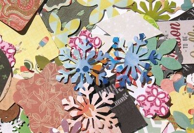 Willy Nilly - Assorted Die Cuts - Butterflies, Hearts, Flowers, Stars & More