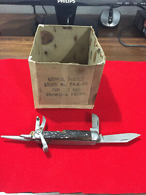 "ULSTER Pocket Knife - 10th Mountain Division "" Devil Brigade"""