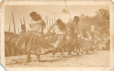 LP33 Hula Dancers Hawaii Hawaiian Islands RPPC  Vintage Postcard